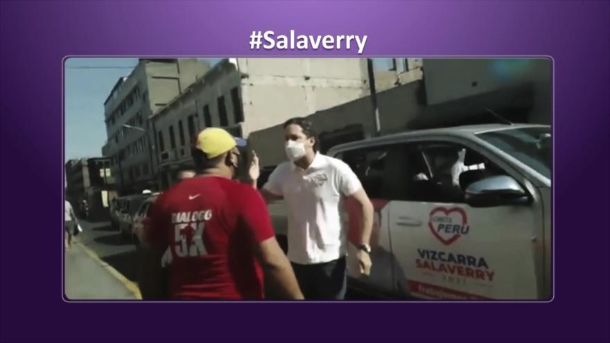Etiquetaje: Se viraliza fuerte altercado de candidato peruano con ciudadano venezolano