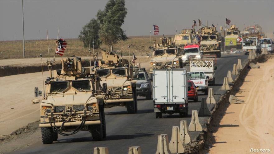 En imágenes: Nuevo ataque se dirige contra convoy de EEUU en Irak