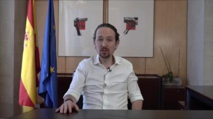Pablo Iglesias deja Gobierno español para ser candidato en Madrid