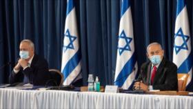 Ministro israelí Gantz llama a Netanyahu 'basura'