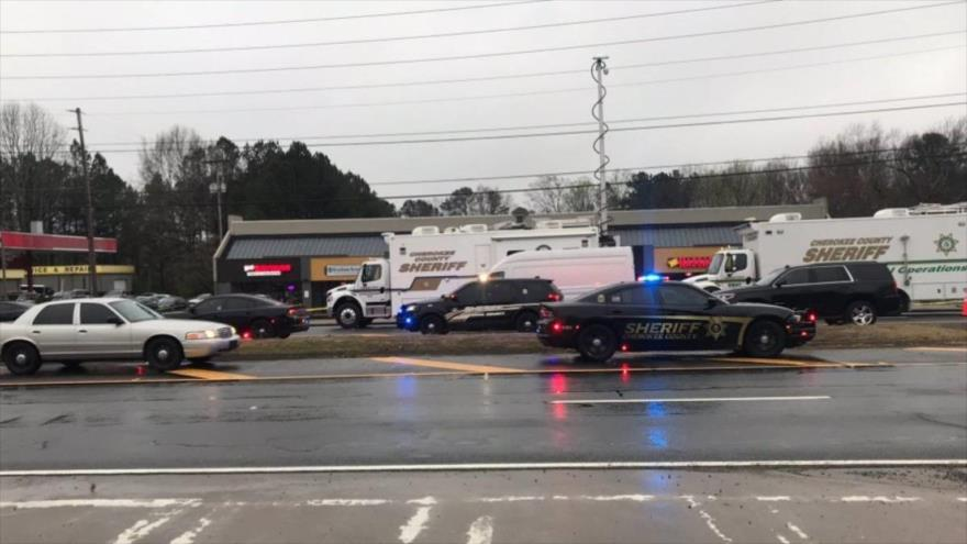 Una serie de tiroteos en tres salas de masaje en Atlanta, EE.UU., el 16 de marzo el 2021
