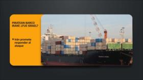 PoliMedios: Piratean barco iraní: ¿Fue Israel?