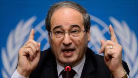 Damasco: EEUU recurrió a terroristas para socavar soberanía siria