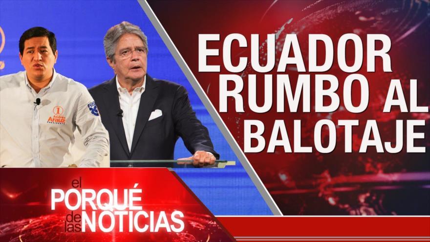 El Porqué de las Noticias: No a intervención de EEUU. Elecciones en Ecuador. Tensión EEUU-China