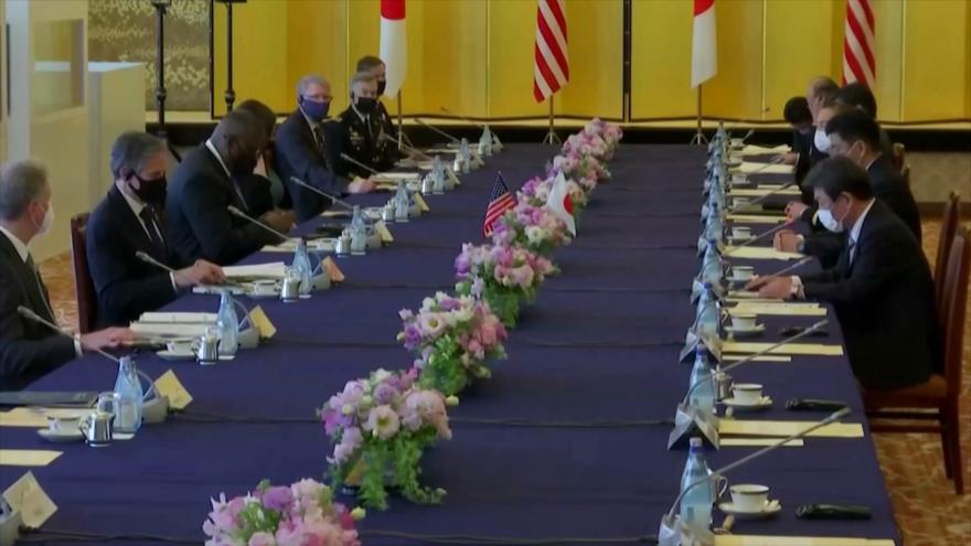 EEUU y Japón critican a China por no respetar orden internacional