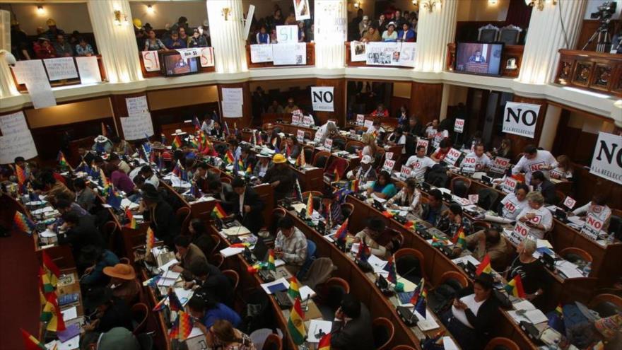 Senado de Bolivia rechaza injerencia de OEA en su política interna | HISPANTV