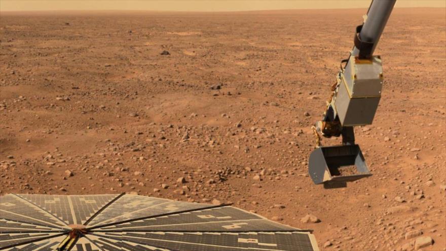 Imagen de la superficie de Marte enviada por la Phoenix Mars Lander de la NASA. (Foto: Reuters)