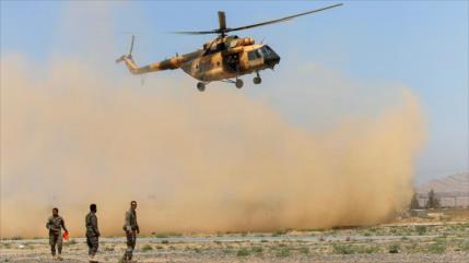 Accidente de un helicóptero militar afgano deja 9 muertos