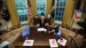 Irán alerta: Virus de trumpismo ha contaminado toda la Casa Blanca