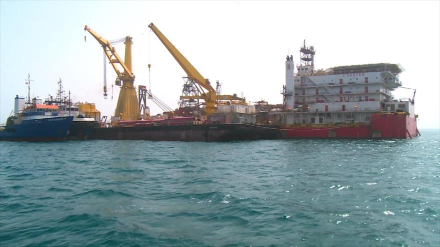 Irán instala primer amarre de un solo punto o SPM en el sur