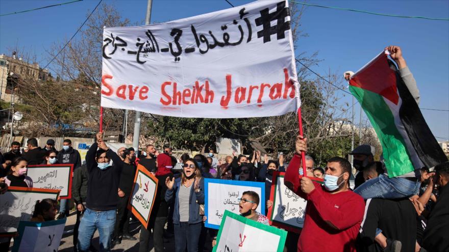 No a la ocupación israelí, así gritan los activistas en Al-Quds | HISPANTV