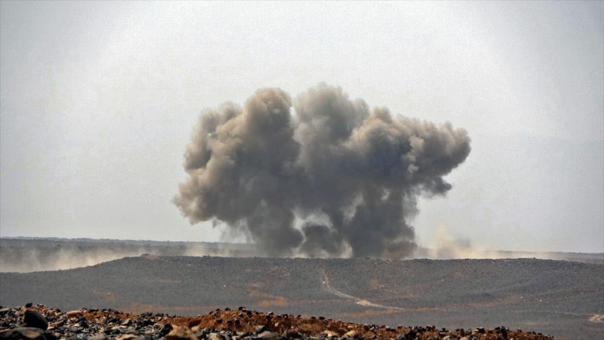 Misil balístico de Yemen impacta contra blancos saudíes en Marib   HISPANTV