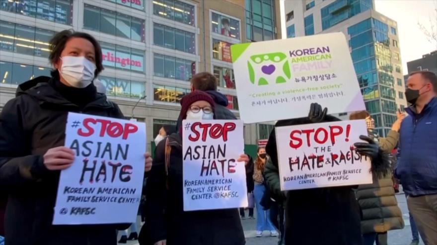 Estadounidenses protestan contra el racismo y crímenes de odio | HISPANTV