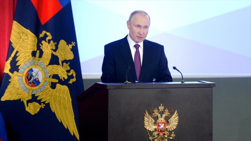 Putin defiende reunificación de Crimea a Rusia | HISPANTV