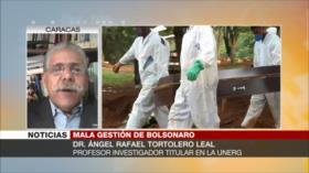 """""""Brasil atraviesa la peor crisis sanitaria en América Latina"""""""