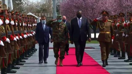 Secretario de Defensa de EEUU realiza visita no anunciada a Kabul