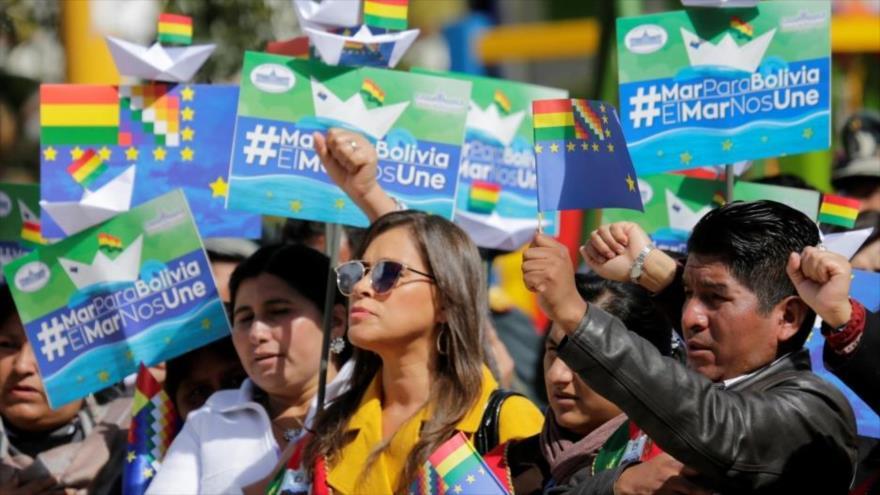 """Bolivia enfatiza su """"derecho irrenunciable"""" sobre salida al mar"""