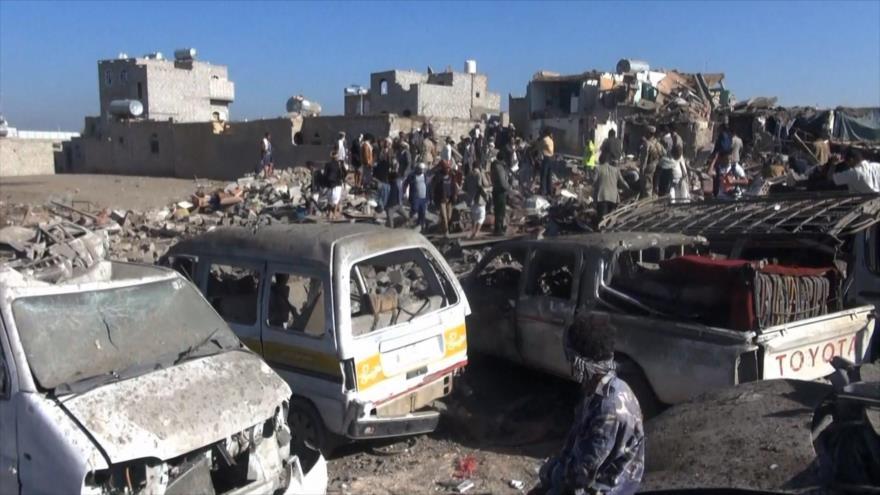 Carnicería en Yemen más sangrienta que nunca; la ONU sorda y muda
