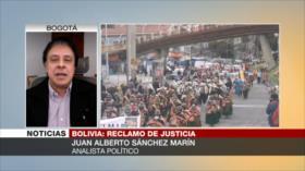 """Marín: Almagro juega el papel de """"verdadero traidor"""" contra Bolivia"""