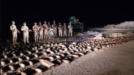 Fotos: Irak halla un gran depósito de armas de Daesh en el oeste