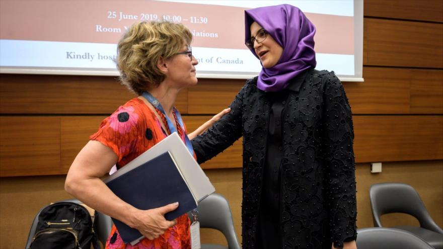Relatora de ONU, amenazada de muerte por investigar caso Khashoggi | HISPANTV