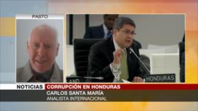 Santa María: Presidente de Honduras no quiere renunciar