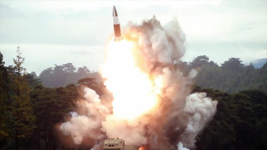 Pyongyang lanza advertencia a Biden con una prueba de misiles | HISPANTV