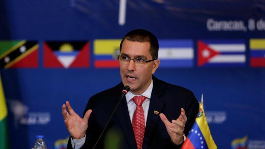 El canciller de Venezuela, Jorge Arreaza.