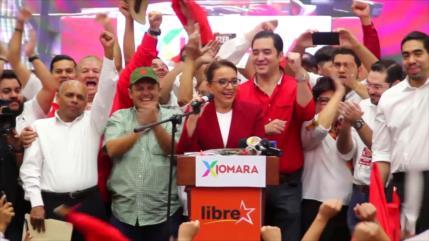 Xiomara Castro virtual candidata de la oposición en Honduras