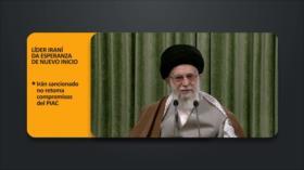 PoliMedios: Líder de Irán da esperanza de nuevo inicio