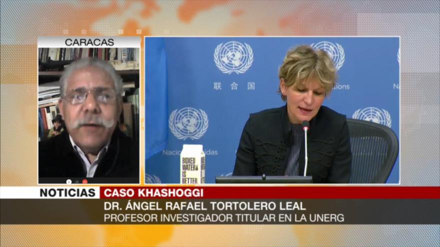 """Tortolero Leal: Riad amenaza a quien """"contradiga en su mandato"""""""