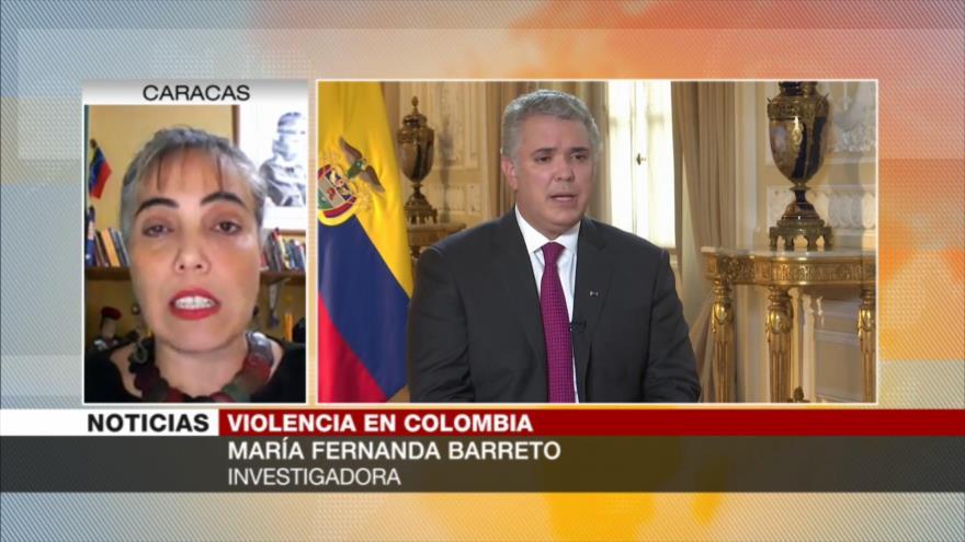 """""""Violencia en Colombia se caracteriza por política imperialista"""""""