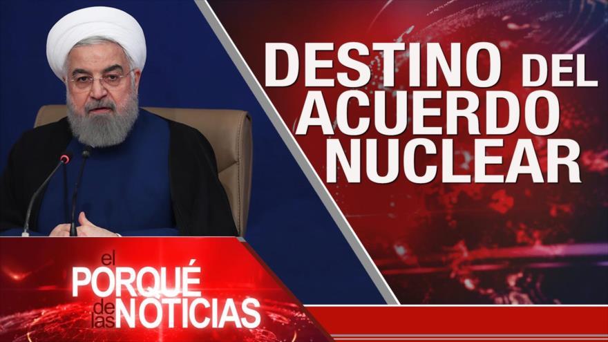El Porqué de las Noticias: Sanciones contra Irán. Arce en México. Tensión EEUU-China