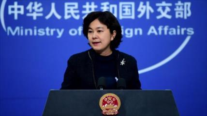 China: No somos primeros en molestar, pero si nos dañan respendemos