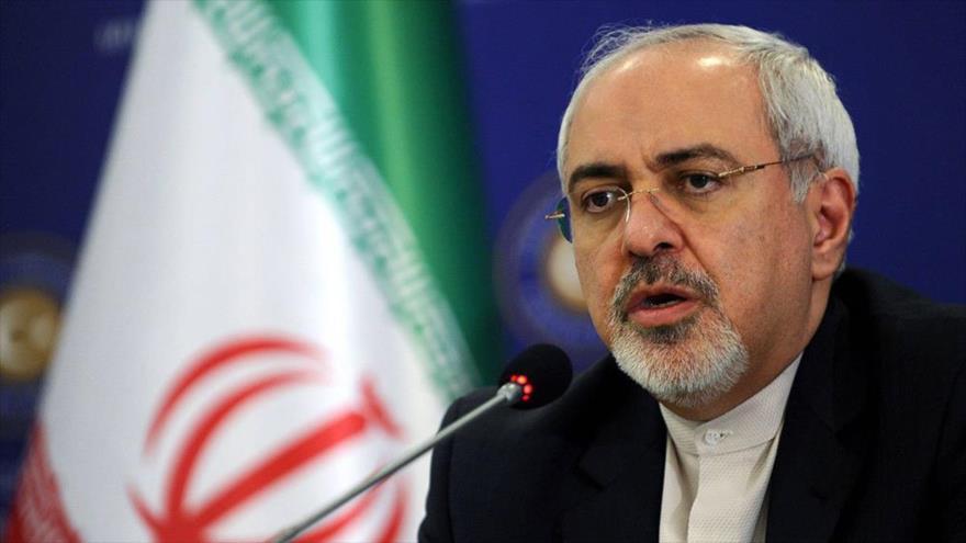El ministro de Asuntos Exteriores de Irán, Mohamad Yavad Zarif.