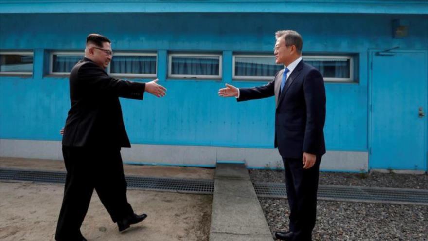 Fotos que sacuden al mundo: Líderes coreanos