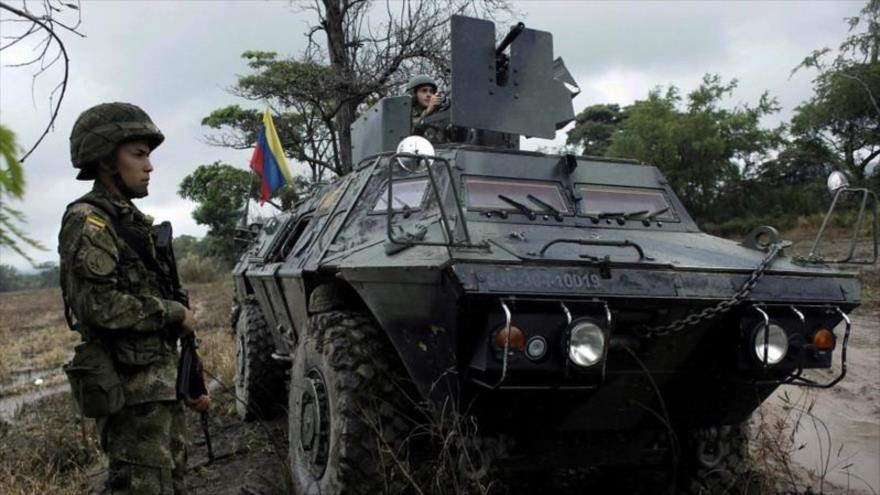 Colombia despliega soldados en la frontera con Venezuela   HISPANTV