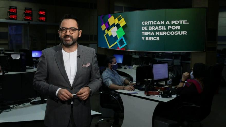 Buen día América Latina: Critican a presidente de Brasil por tema Mercosur y BRICS