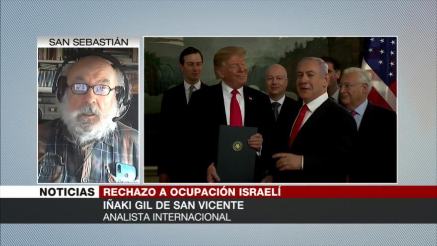 """""""Israel sobrevive gracias a potencias muy poderosas que le apoyan"""""""