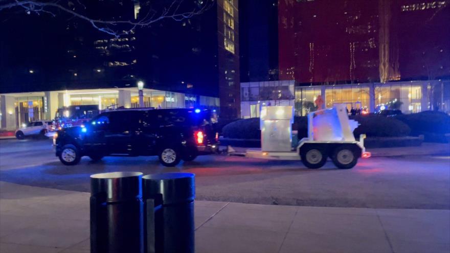 El escenario de un tiroteo en la ciudad de Chicago, en el estado estadounidense de Illinois, 26 de marzo de 2021.