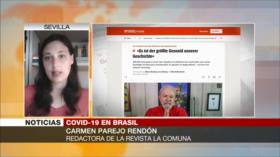Rendón: Bolsonaro, incapaz de salvar a brasileños de la COVID-19