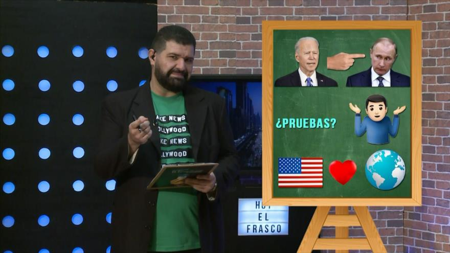 El Frasco, medios sin cura: El dedito acusador de Biden
