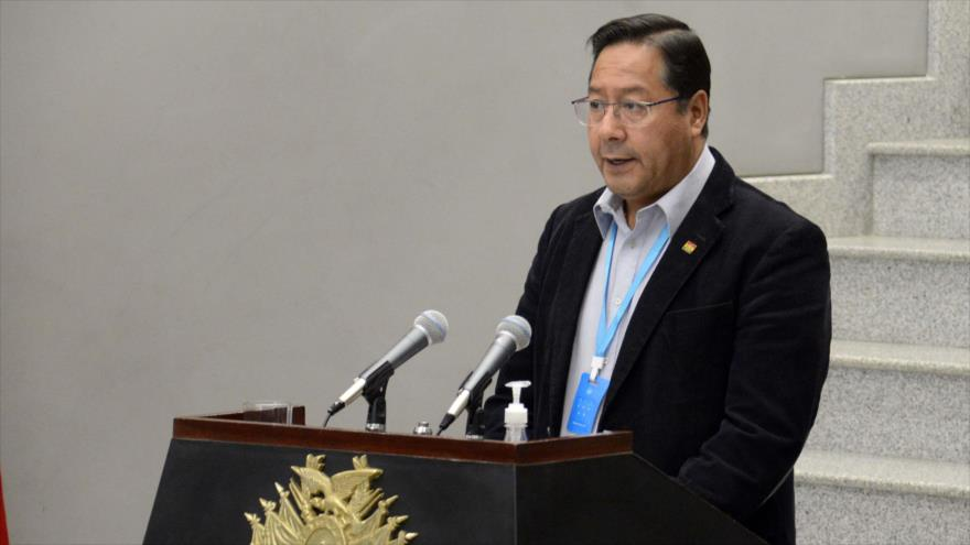 Arce anuncia campaña internacional contra golpe de Estado de 2019