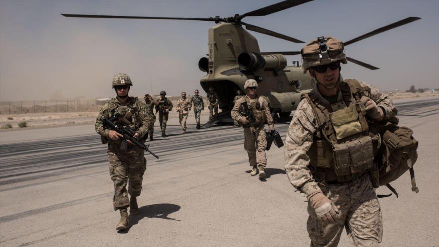 Tropas de EE.UU. en Helmand, Afganistán, 11 de septiembre de 2017. (Foto: Getty Images)