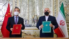 Irán y China firman un plan integral de cooperación de 25 años