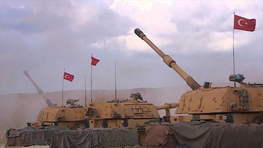 Artillería turca bombardea aldeas en el noroeste de Siria | HISPANTV