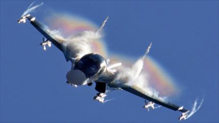 Aviones rusos atacan blancos de Daesh en el centro de Siria