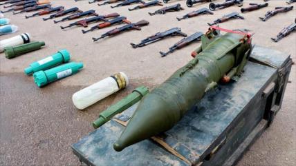 Siria incauta armas estadounidenses a terroristas en Daraa