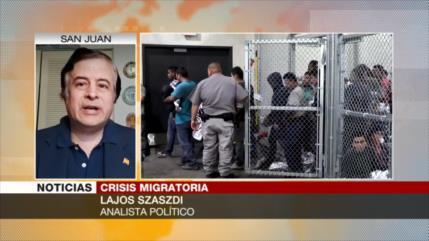 Szaszdi: Crisis migratoria en EEUU emana del racismo a hispanos