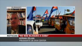Zelaia: EEUU bloquea a Cuba por ser referente antimperialista